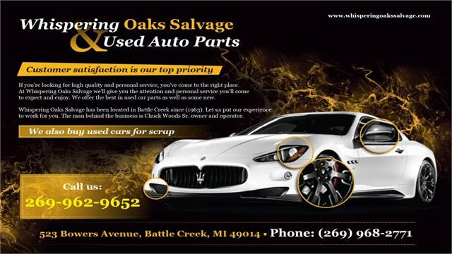 Whispering Oaks Salvage Used Auto Parts