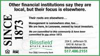 Blissfield State Bank