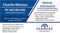 Farmers Insurance - Charlie Weston