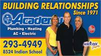 Academy Plumbing Heating A/C and Electric