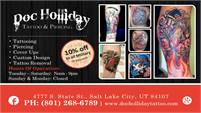Doc Holliday Tattooing & Piercing Services