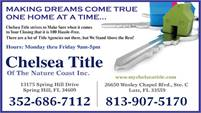 Chelsea Title Of The Nature Coast, Inc.