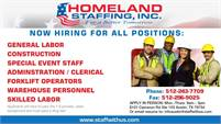 Homeland Staffing Inc