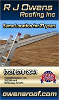 R J Owens Roofing Inc
