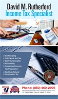 David M. Rutherford Income Tax Specialist