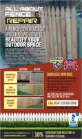 All About Fence & Repair