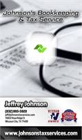 Johnson's Bookkeeping & Tax Service