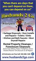 Husbands 2 Go | Handyman Services