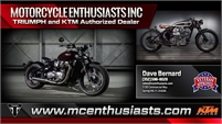 Motorcycle Enthusiasts, Inc.