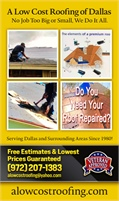 A Low Cost Roofing of Dallas