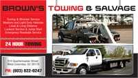 Browns Towing And Salvage