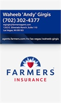 Girgis Agency Farmers Insurance - Waheeb 'Andy' Girgis
