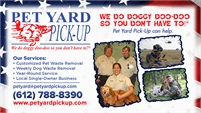Pet Yard Pick-Up Inc