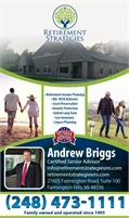 Retirement Strategies - Andrew Briggs