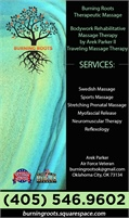 Burning Roots Therapeutic Massage & Body Works