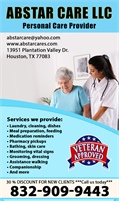 Abstar Care - Personal Care Provider