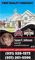 First Realty Co - Susan F Johnson