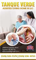 Tanque Verde Assisted Living Home III LLC
