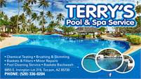 Terry's Pool And Spa Service
