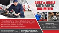 GUST & ADOLF AUTO PARTS UNLIMITED