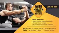 Faith Health Training Institute