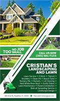 Cristian's Landscaping & Lawn