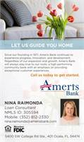 Ameris Bank - Nina Raimonda