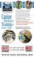 Canine Obedience Training At Hunt Club With Dory