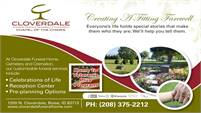 Cloverdale Funeral Home Cemetary-Crematory