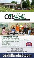 Oak Hills Nursing And Rehab