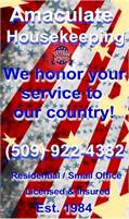 Amaculate Housekeeping Service