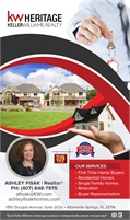 Keller Williams Herritage Realty - Ashley Fisak