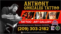 Anthony Gonzales Tattoo