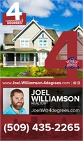 4 Degrees Real Estate - Joel Williamson