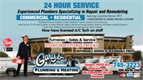 Gary's Plumbing & Heating Inc