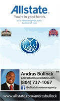 Allstate - The Bullock Insurance Agency Inc - Andras Bullock
