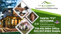 "Tanya ""Ty"" Hutchins · Broker-Owner of Ty & Company Real Estate"