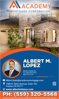 Academy Mortgage Corporation - Albert Lopez