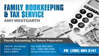 Family Bookkeeping & Tax Service