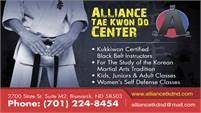 Alliance Tae Kwon Do Center