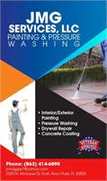 JMG Services, LLC Painting & Pressure Washing