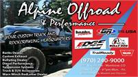 Alpine Offroad & Performance
