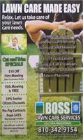 Boss Lawn Care Services