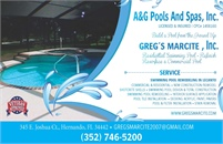 A&G Pools & Spas Inc