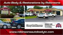 Auto Body & Restorations by Robinsons