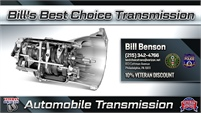 Bill's Best Choice Transmission