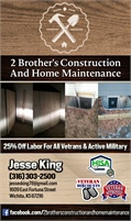 2 Brother's Construction And Home Maintenance