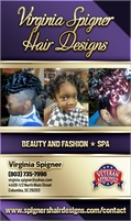 Virginia Spigner Hair Designs