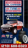 Express Oil Change Tire Engineers