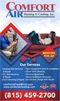 Comfort Air Heating And Cooling Inc